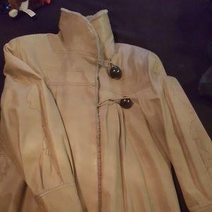 Fendi Leather and Fur coat